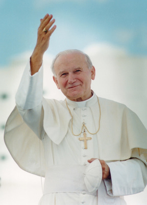 1987 FILE PHOTO OF POPE JOHN PAUL II