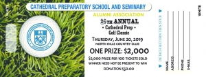 thumbnail of Cathedral Prep Golf Classic WHITE tickets 2019 (1)